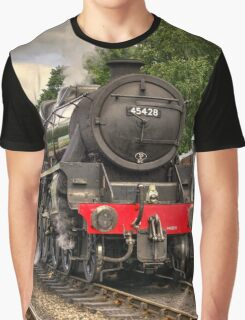 Black Five at Grosmont  Graphic T-Shirt