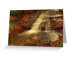 The Last Of The Canterbury Falls © Greeting Card