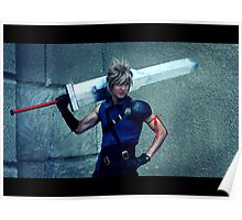 Cloud from Final Fantasy Poster