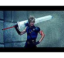 Cloud from Final Fantasy Photographic Print
