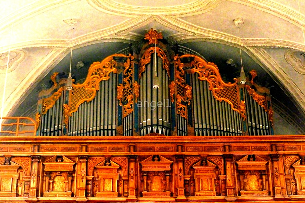Organ ~ Pilgrimage Church Hohenpeissenberg by ©The Creative  Minds