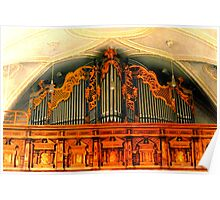 Organ ~ Pilgrimage Church Hohenpeissenberg Poster