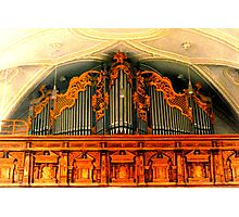 Organ ~ Pilgrimage Church Hohenpeissenberg Photographic Print