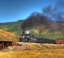 Cumbres & Toltec Freight Photo Charter by Ken Smith
