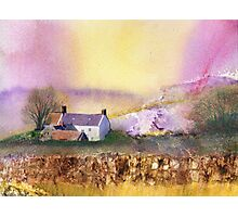 House on the Moor Photographic Print