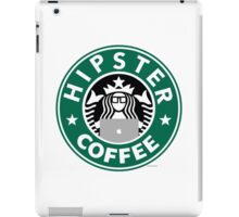 Hipster Coffee iPad Case/Skin