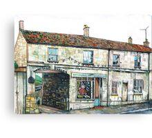 Rosie's House Winchcombe Canvas Print