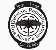 Bespin Local Gas Miner's Union Kids Clothes