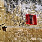 RED WINDOW by Gaspare De Stefano