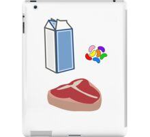 Milk Steak iPad Case/Skin