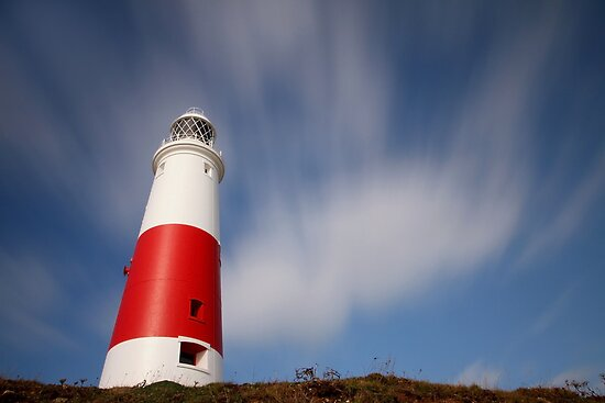 Portland Bill Lighthouse by Lisa  Baker-Richardson