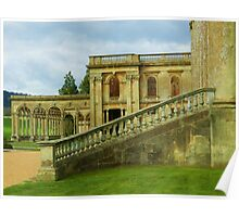 Perfect lines country house Poster