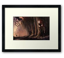 The Fabled Giant Women of the Woods Framed Print