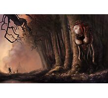 The Fabled Giant Women of the Woods Photographic Print