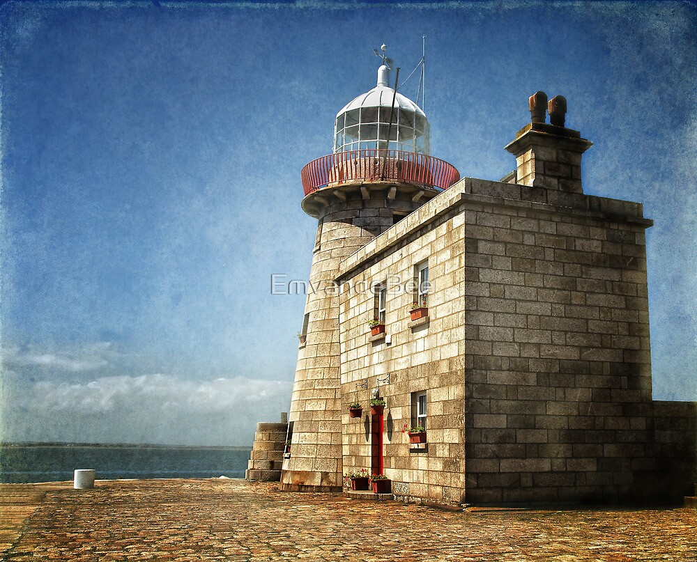 Howth Harbour Lighthouse - Ireland by EmvandeBee