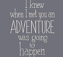 Adventure - Winnie the Pooh quote by Simple Serene