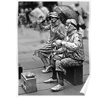 Street performers Poster