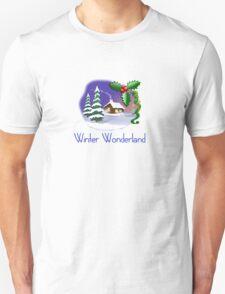 winter wonderland Christmas holiday tee  T-Shirt