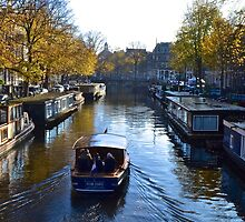 water taxi Amsterdam by Alessiocorner