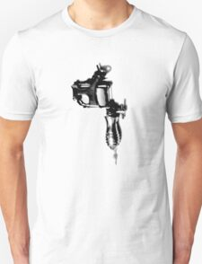 Tattoo Machine Gun Pop Art Unisex T-Shirt