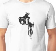 Tattoo Machine Gun Pop Art Unisex T-Shirt