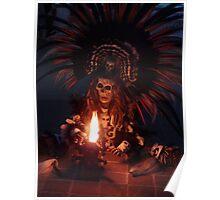 Aztec Dancer - Bailerín Azteca Poster