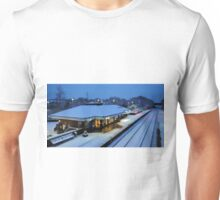 Tiverton Parkway in the snow Unisex T-Shirt