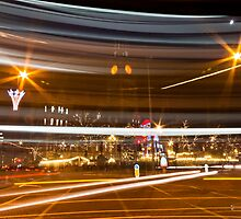 Manchester Traffic Trails by Stephen Knowles