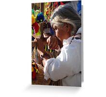Seller - Vendedora Greeting Card