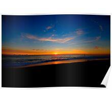 Sunrise on the North Norfolk Coast Poster