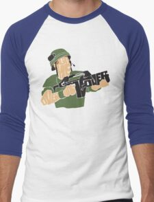 Game Over, Man. Game Over! Men's Baseball ¾ T-Shirt