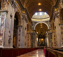 Inside the Basilica by CPProPhoto