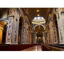 Inside the Basilica Photographic Print