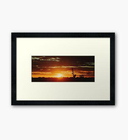 Laverton Sunrise 2 Framed Print