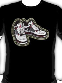 BANNED KICKS: JORDAN AIR ONES T-Shirt