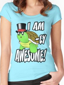 I Am Turtle-Ly Awesome! Women's Fitted Scoop T-Shirt