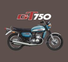 Suzuki GT750J by Tony  Newland
