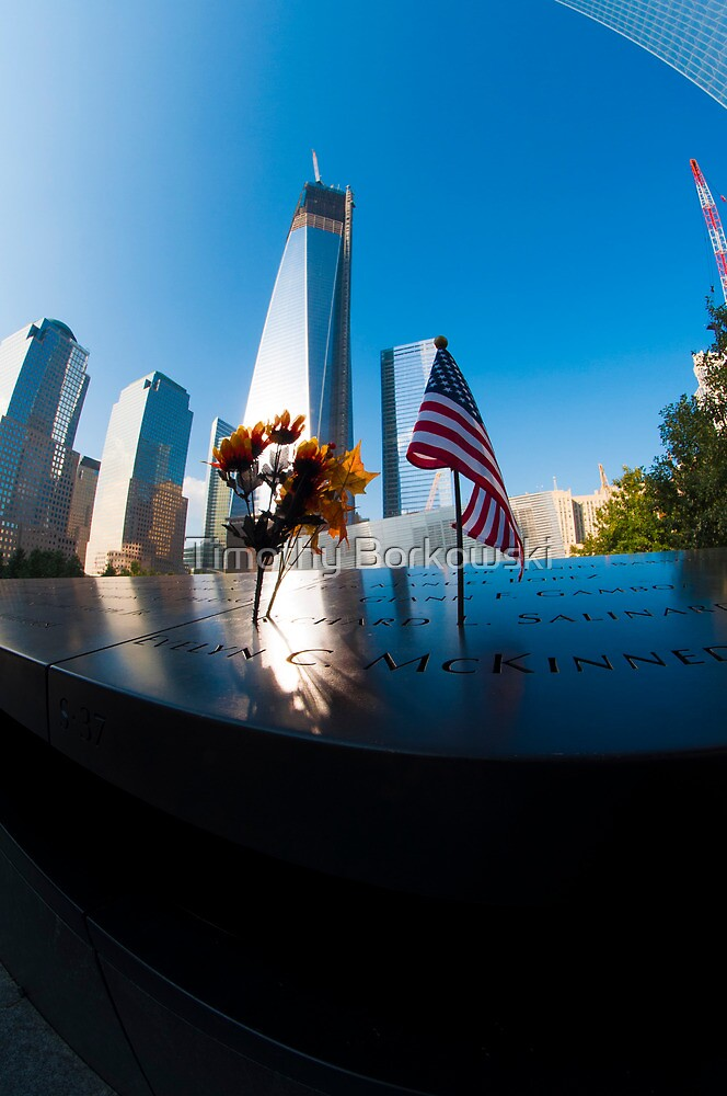 9/11 Memorial by Timothy Borkowski