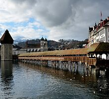Chapel Bridge by Daidalos
