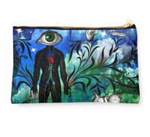 Midnight in the Garden of Seeing, Hearing, and Speaking No Evil Studio Pouch