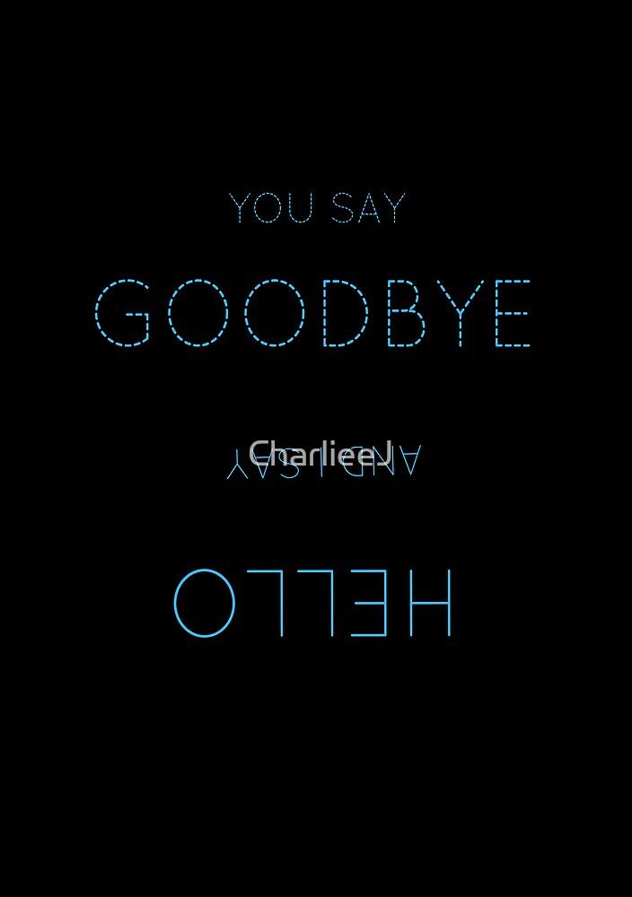 Hello Goodbye by CharlieeJ