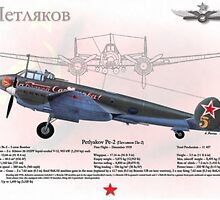 Petlyakov Pe-2 by A. Hermann