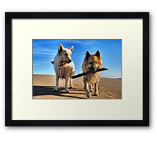 My Stick! Framed Print