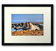Cooling Off Framed Print