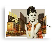 New York City Girl Canvas Print