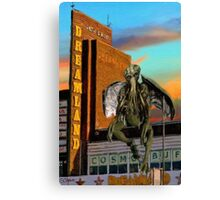 cthulhu in dreamland - part 1 Canvas Print