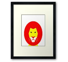 AnimalKingdom - Lion Framed Print