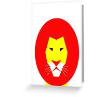 AnimalKingdom - Lion Greeting Card