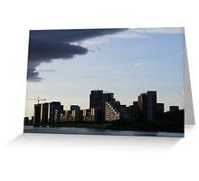 Glasgow Skyline Greeting Card