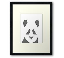 AnimalKingdom - Grey Panda Framed Print